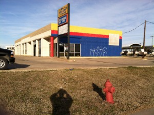 Commercial Painting BEFORE by Hahn Painting Services