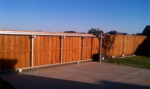 Fence Staining by Hahn Painting Services